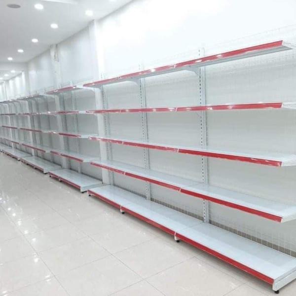 Kệ siêu thị đơn lưới 5 tầng 180cmx120cm-moi