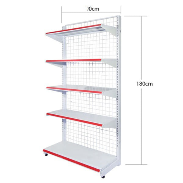 mẫu kệ đơn lưới 5 tầng 180x70