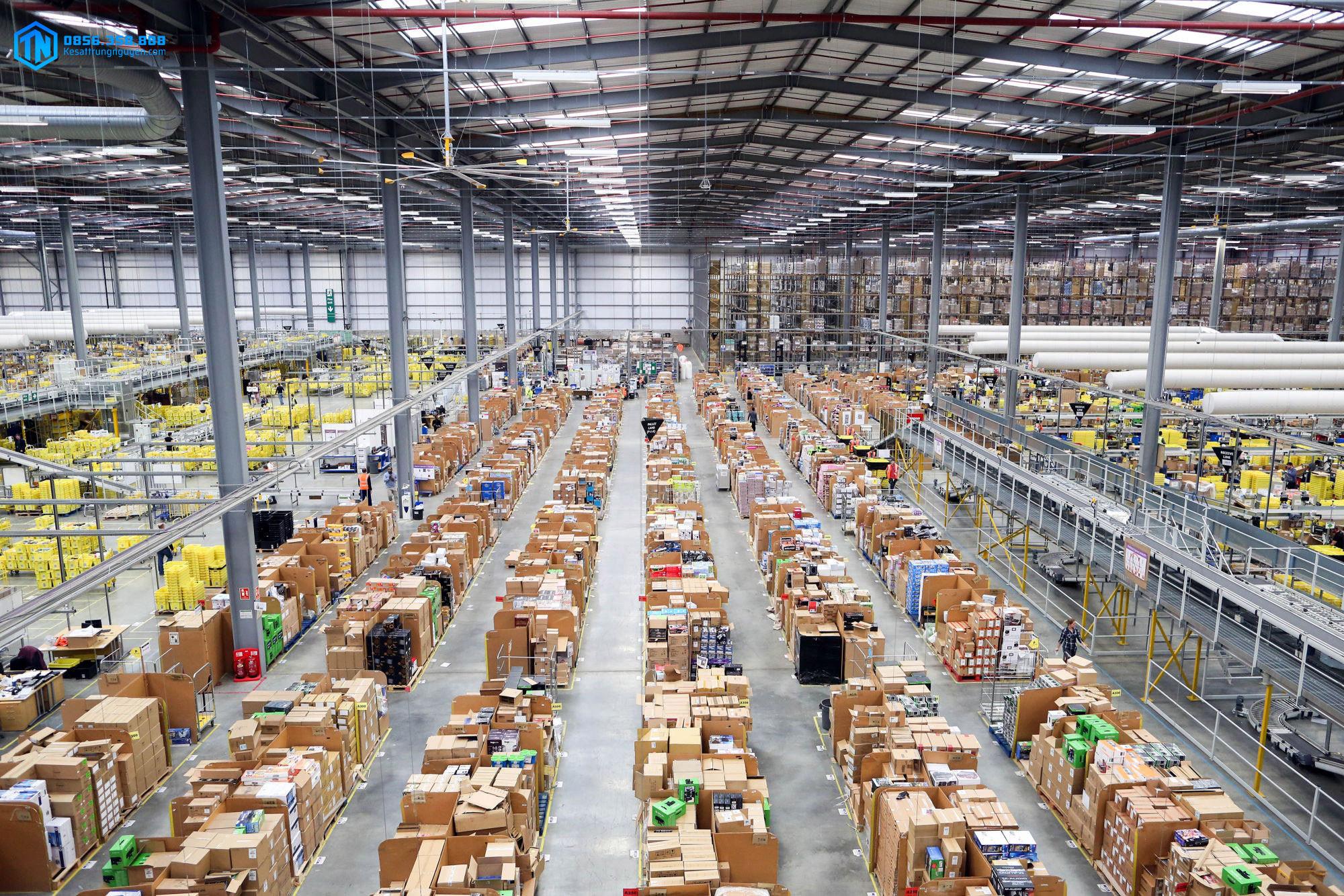 Công việc quản lý kho hàng trong logistics