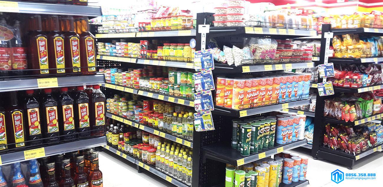Đầu kệ siêu thị được sử dụng phổ biến